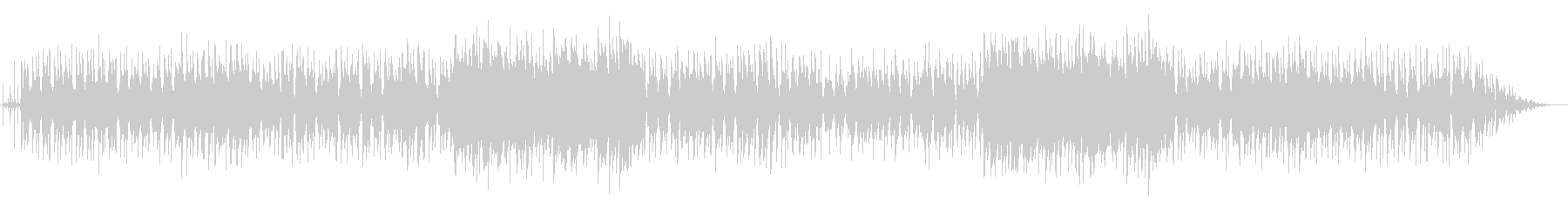休日の朝に聴きたいジャズワルツの未再生の波形