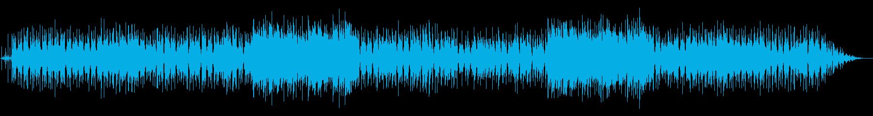 休日の朝に聴きたいジャズワルツの再生済みの波形