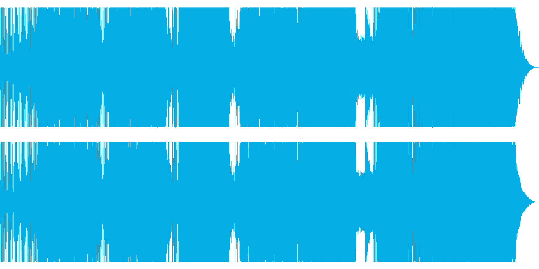 明日が見えない時に聴きたいエモロックの再生済みの波形