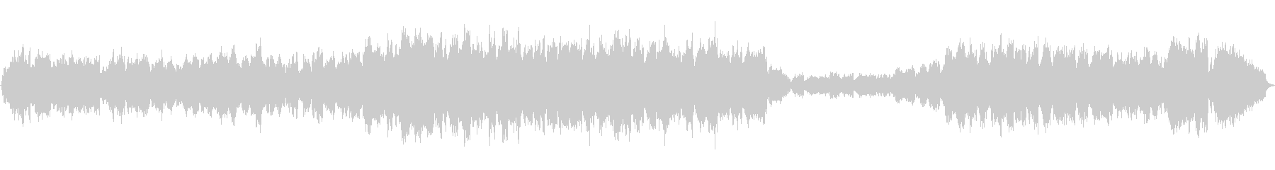 ストリングスの旋律が優しい印象的な作品の未再生の波形