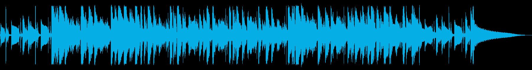 動画 アクション アコースティック...の再生済みの波形