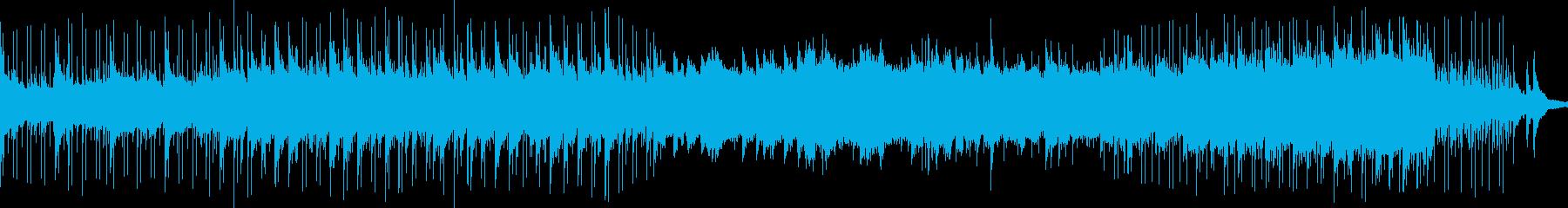 アンビエントポップインスト心温まる...の再生済みの波形