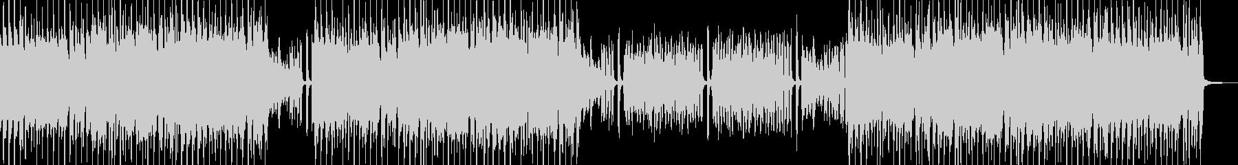 スィングポップ 打楽器無&ベース有の未再生の波形