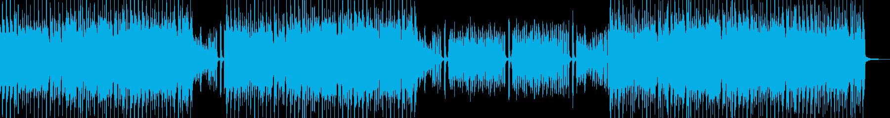 スィングポップ 打楽器無&ベース有の再生済みの波形