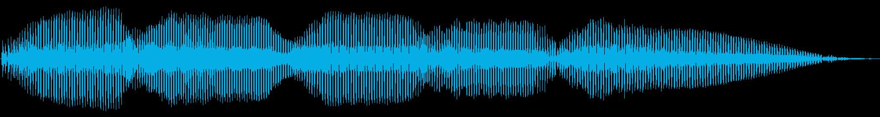 明るい トランペット トリルの再生済みの波形