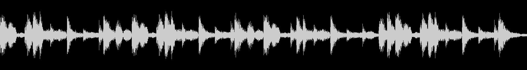 リズミカルで民族的なジングル04の未再生の波形