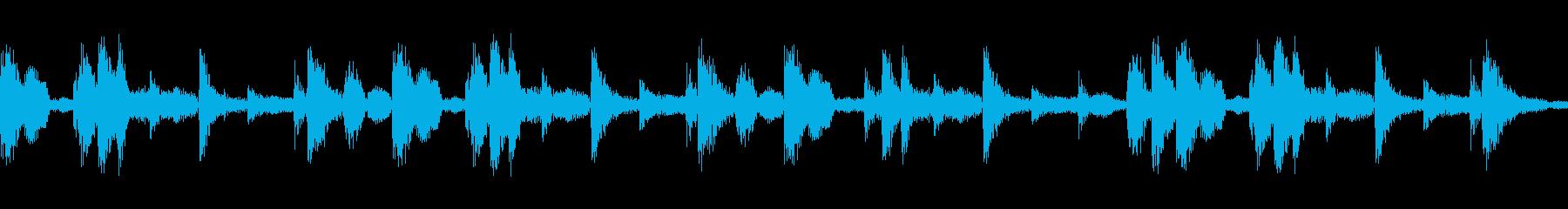 リズミカルで民族的なジングル04の再生済みの波形