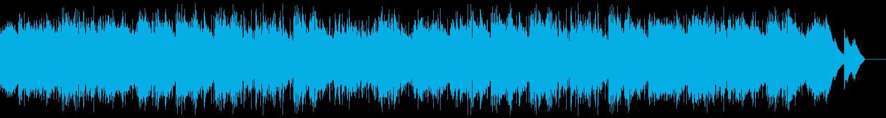 七夕の星空・爽やかなピアノR&Bの再生済みの波形