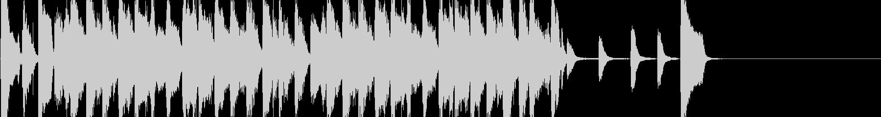 オシャレなジャズBGMショートver.の未再生の波形