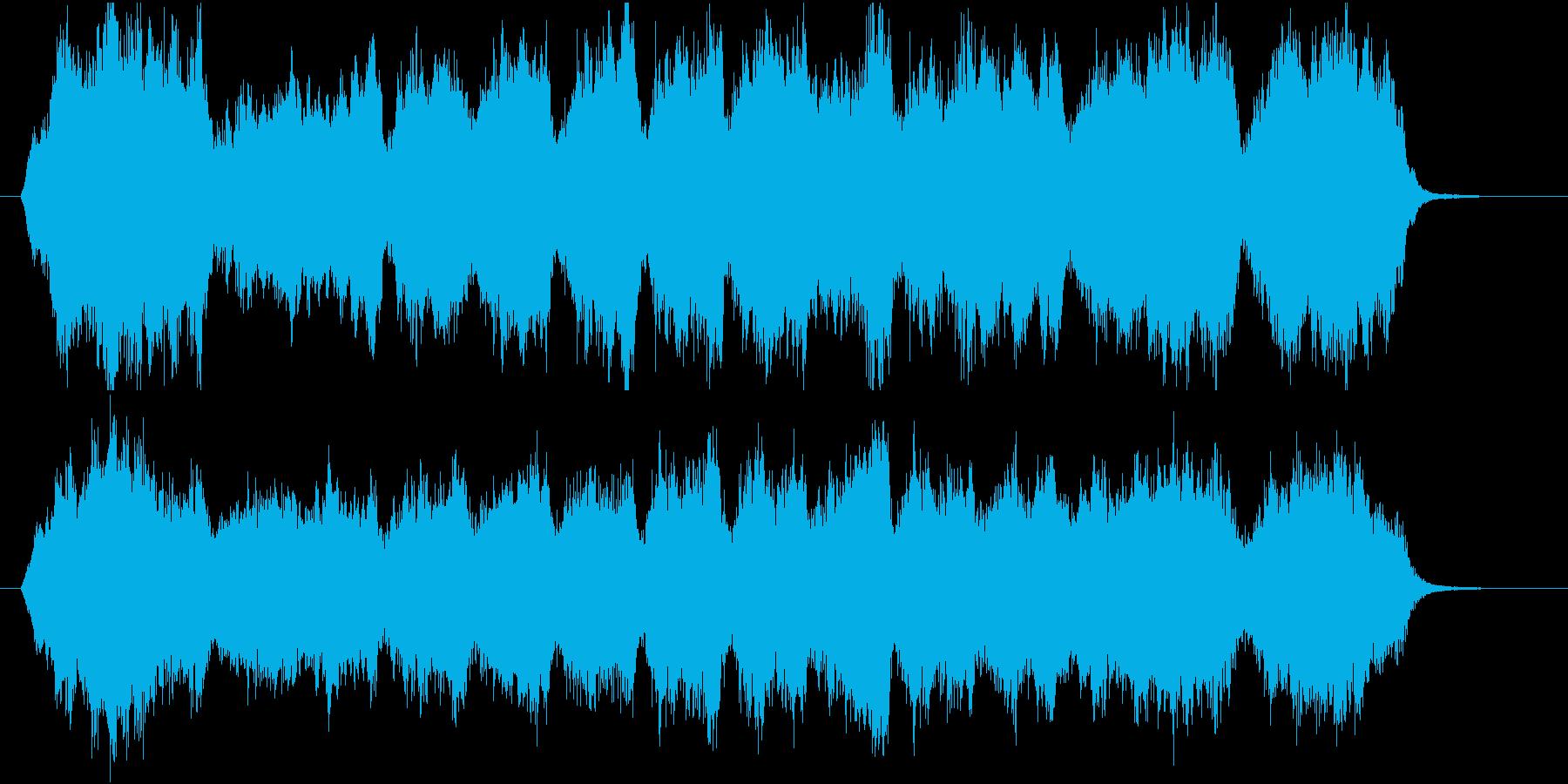 30秒CMサイズの7 心癒す弦楽四重奏の再生済みの波形