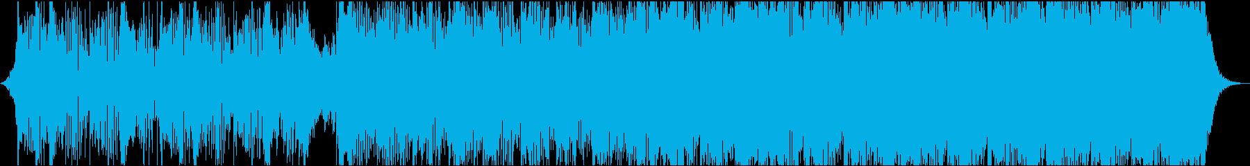Adventure musicの再生済みの波形