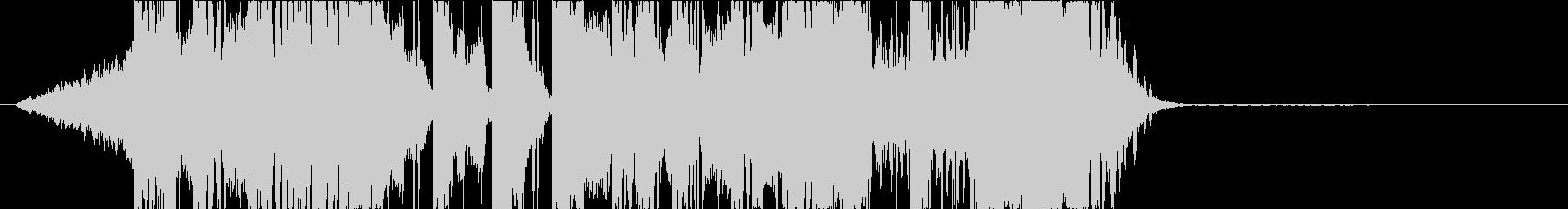 DUBSTEP クール ジングル155の未再生の波形