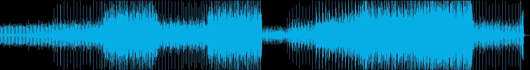 ハロウィンの時期に不気味不思議アコギの再生済みの波形