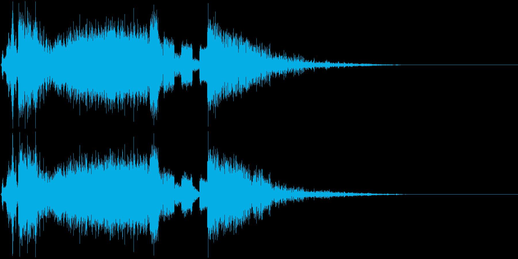 マシンON⇨故障⇨爆発のカートゥーン系の再生済みの波形