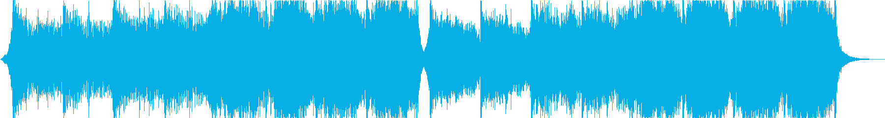 雄大で刺激的な音楽の再生済みの波形