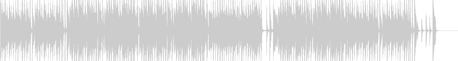 オシャレなジャズBGMロングver.の未再生の波形