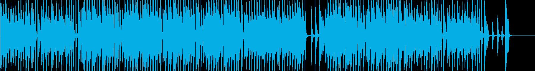 オシャレなジャズBGMロングver.の再生済みの波形