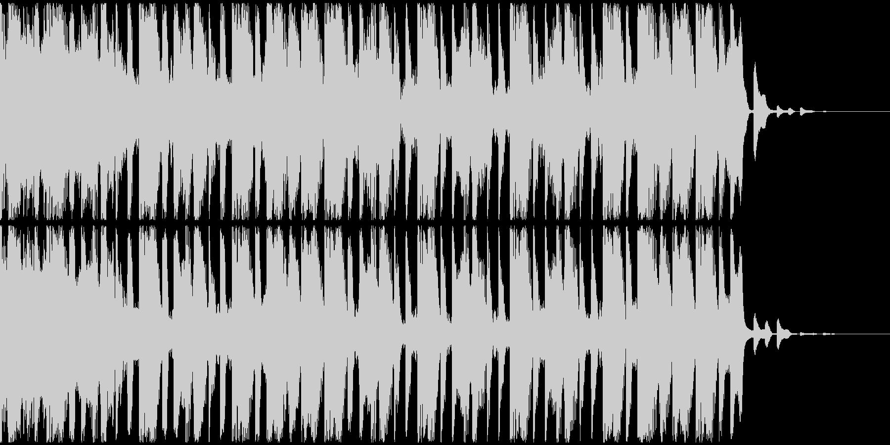 【EDM】トランス、ショート4の未再生の波形