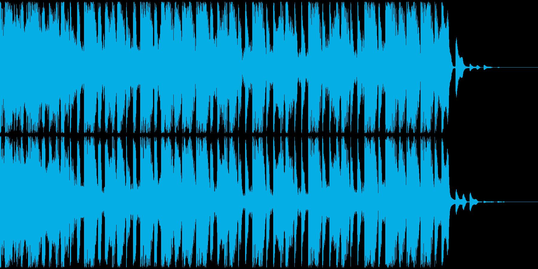 【EDM】トランス、ショート4の再生済みの波形
