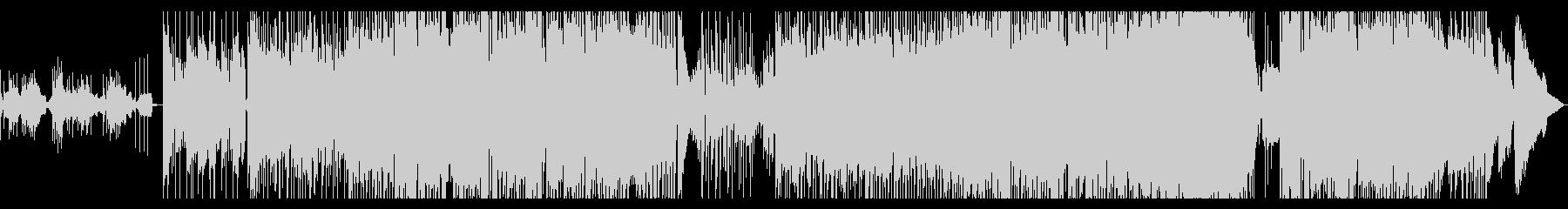 かわいいサウンドのBGMの未再生の波形