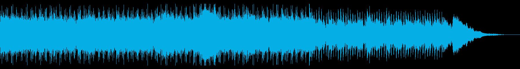 オープニングっぽいギターロックインストの再生済みの波形