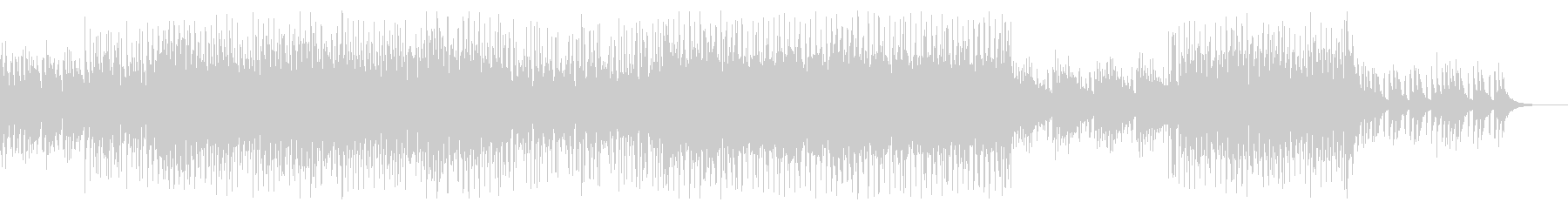 明るく楽しい4つ打ちシンセポップの未再生の波形
