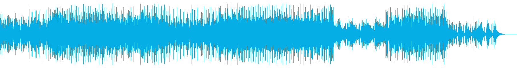 明るく楽しい4つ打ちシンセポップの再生済みの波形