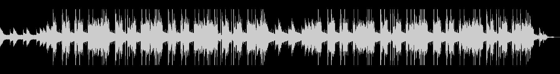 切ない・クールなピアノヒップホップの未再生の波形