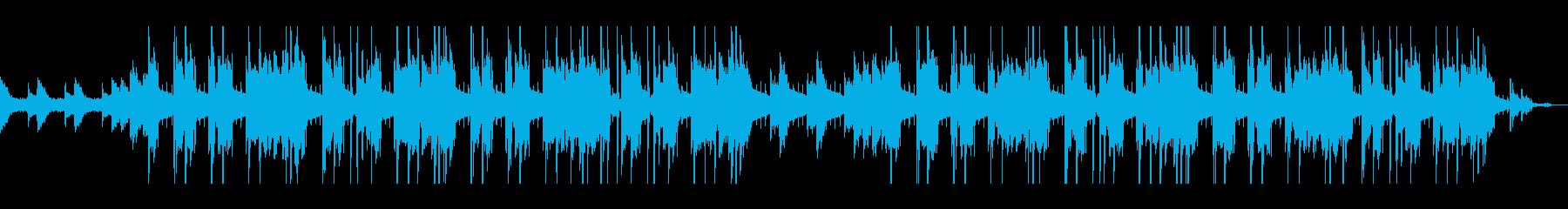 クールなジャズヒップホップの再生済みの波形