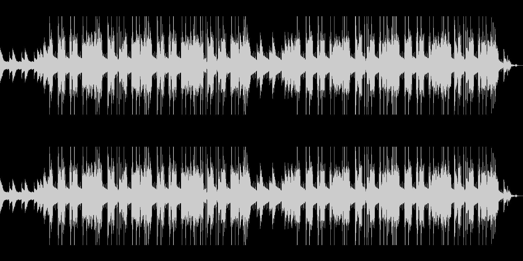 クールなジャズヒップホップの未再生の波形