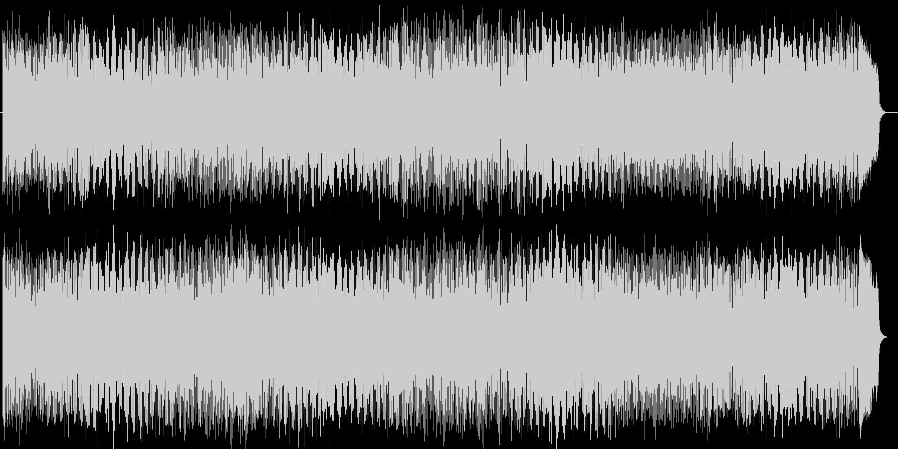 バンドサウンドのさわやかなポップスの未再生の波形