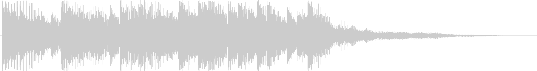 Sound logo, synth and impressive melody's unreproduced waveform