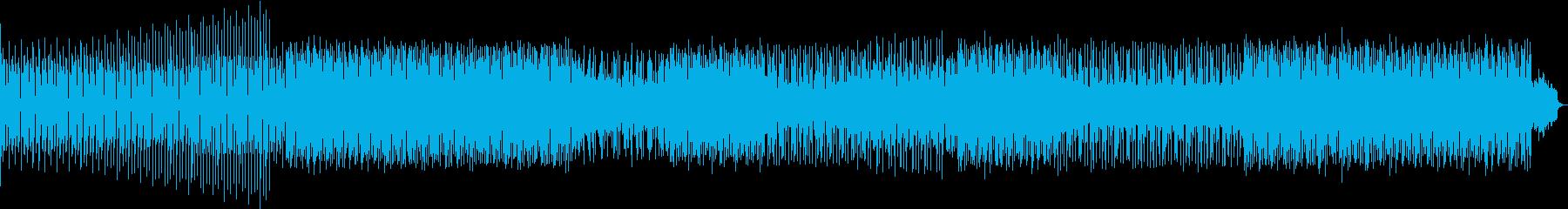 テックハウスの再生済みの波形