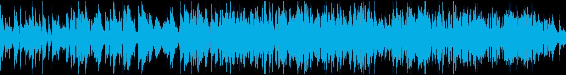 嬉しい雰囲気のスローなジャズ ※ループ版の再生済みの波形