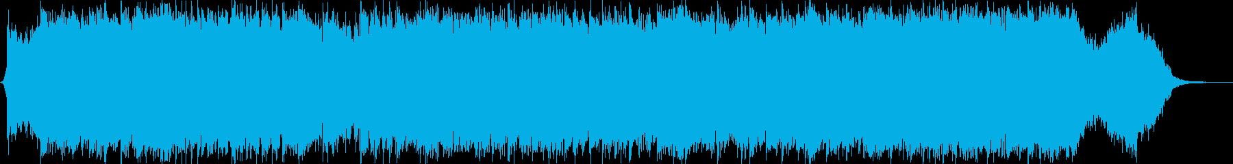 ダークファンタジーオーケストラ戦闘曲60の再生済みの波形