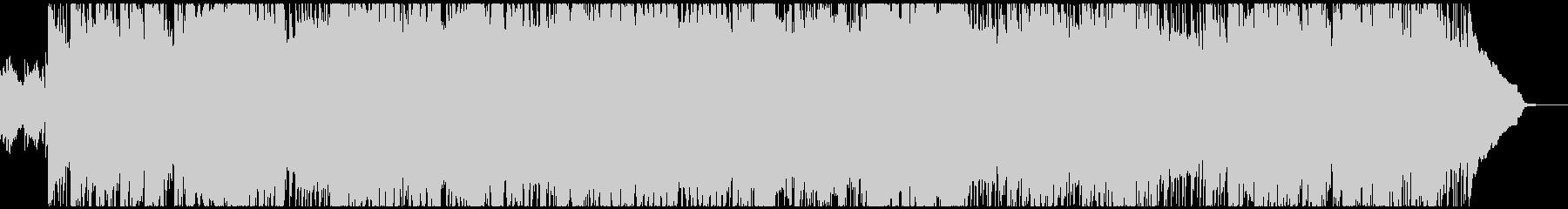 勝利を確信するときに流れるBGMの未再生の波形