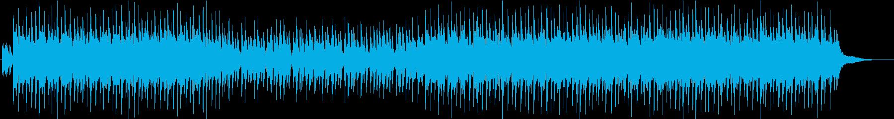 ほのぼのアコースティックPOPドラム抜きの再生済みの波形