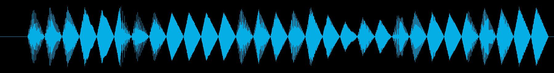 FX レーザーガン03の再生済みの波形