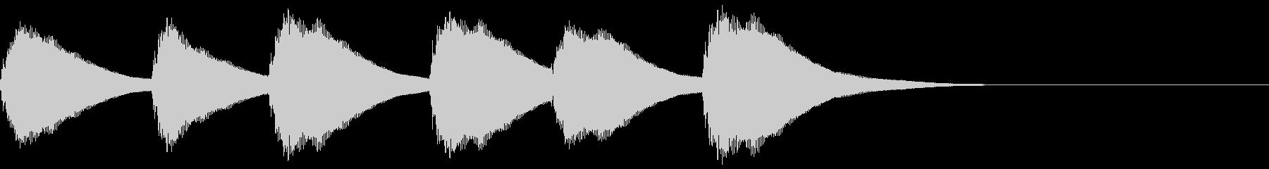 FX・SE/ピアノ/コール/アラームの未再生の波形