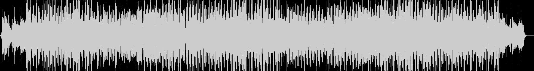 アコギとストリングスのさわやかなBGMの未再生の波形