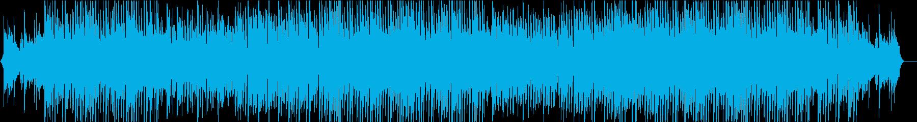アコギとストリングスのさわやかなBGMの再生済みの波形