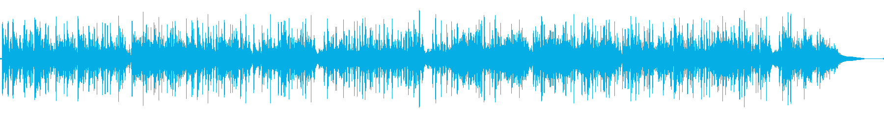 シンセベルの音色が美しいキラキラ系BGMの再生済みの波形