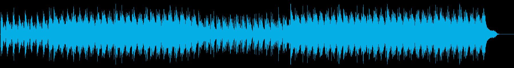 ピアノとストリングス/企業VP/前向きの再生済みの波形
