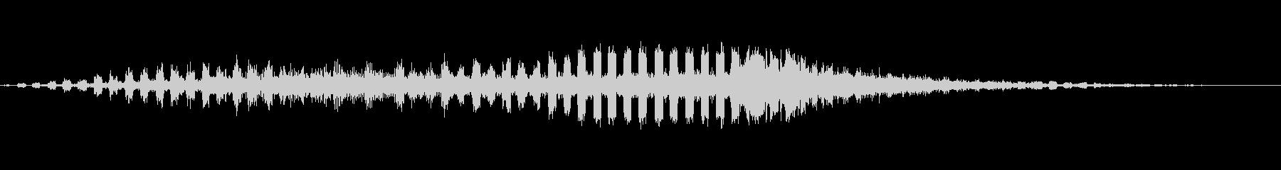 パルセートパルシングフィルターの未再生の波形