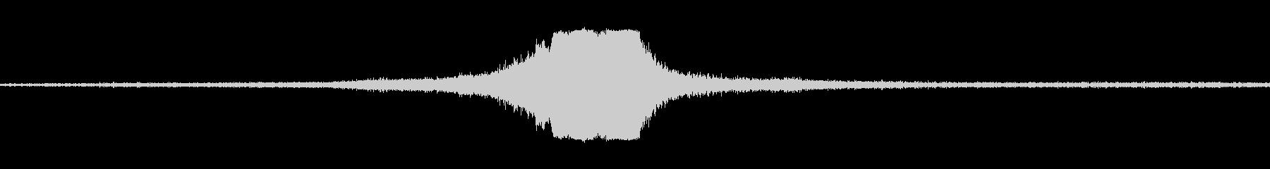 ジェットパスによる小道具の未再生の波形