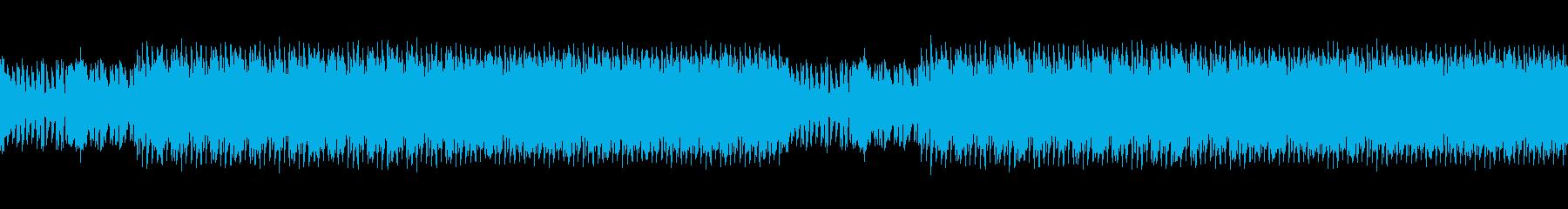 陶酔感のある幻想的なディープハウスループの再生済みの波形