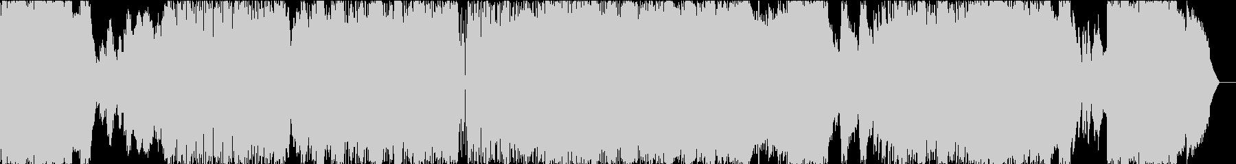 めちゃくちゃかっこいいサウンドのBGM!の未再生の波形