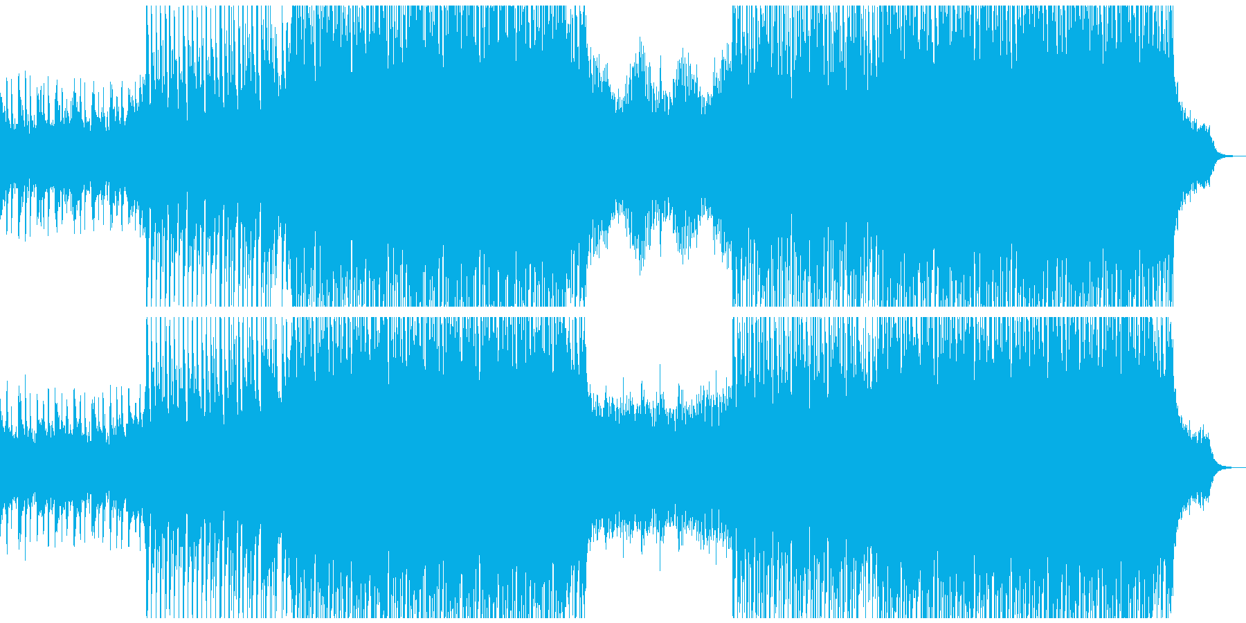 コーポレートダンスの再生済みの波形