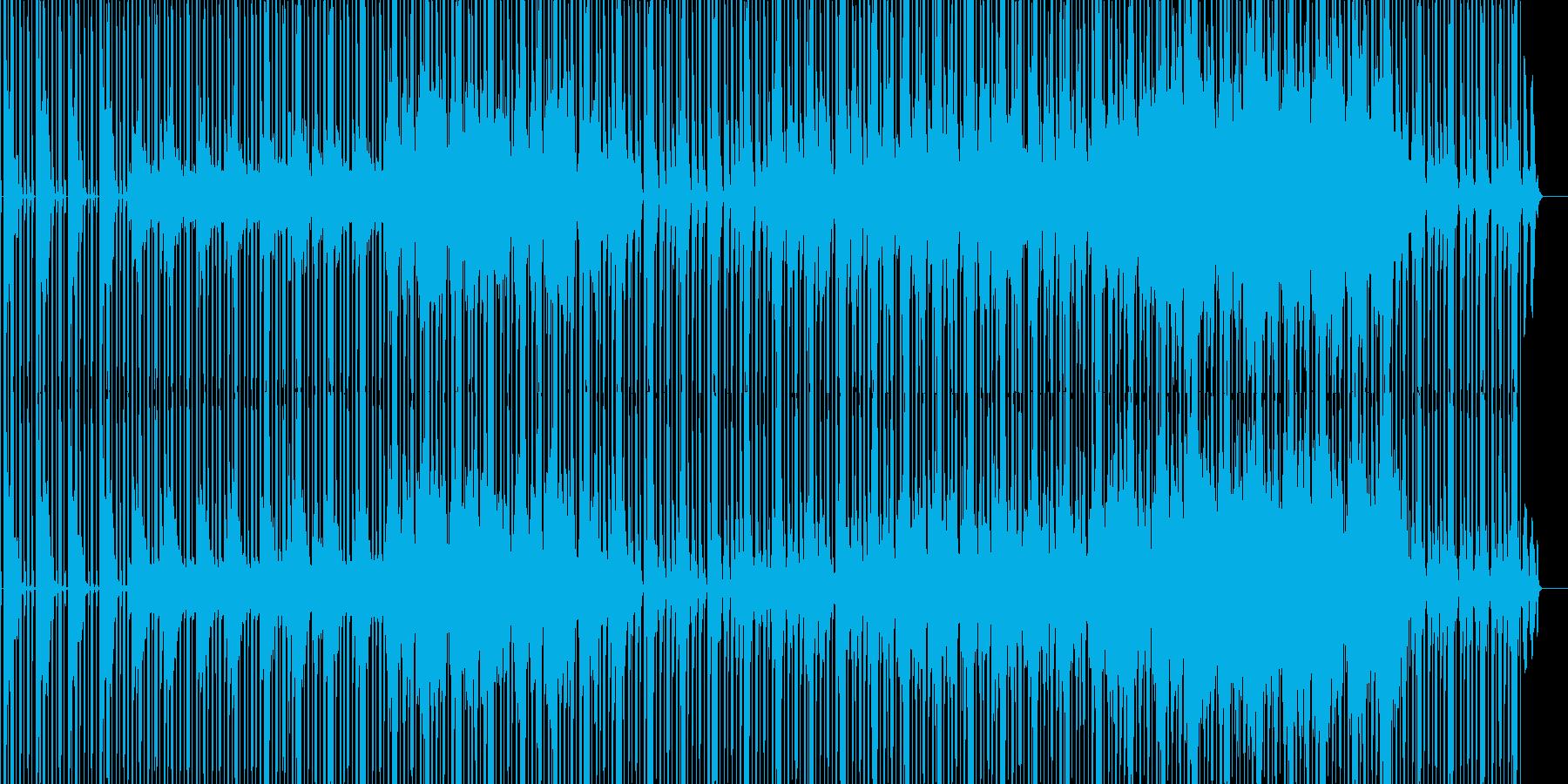 jazz/lo-fi/chillhopの再生済みの波形