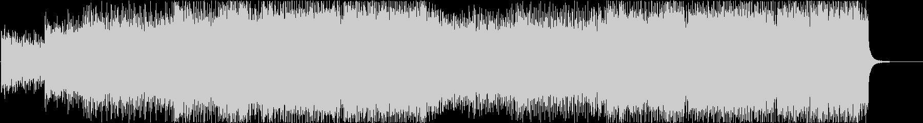 レトロな感じのEDM/Synthwaveの未再生の波形